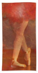 Ballet Dancer Bath Towel