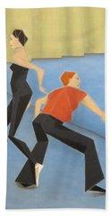 Ballet Practice Hand Towel by Tamara Savchenko