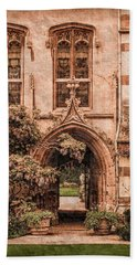 Oxford, England - Balliol Gate Hand Towel