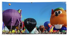 Balloon Fiesta Albuquerque I Hand Towel