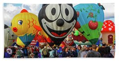 Balloon Fiesta Albuquerque II Hand Towel