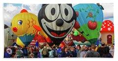 Balloon Fiesta Albuquerque II Bath Towel