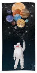 Balloon Universe Hand Towel