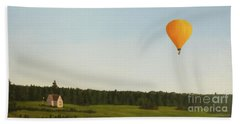 Balloons In Prince Edward Island Hand Towel