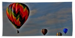 Balloons In The Sky Hand Towel