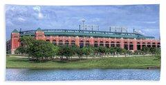 Ballpark In Arlington Now Globe Life Park Bath Towel