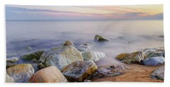 Hand Towel featuring the photograph Baltic Zen by Dmytro Korol