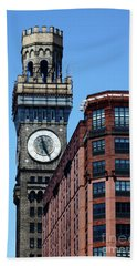 Baltimore Bromo Seltzer Tower Hand Towel