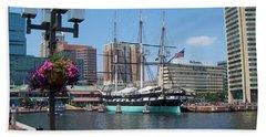 Baltimore Inner Harbor Hand Towel