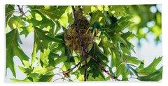 Baltimore Oriole Nest Hand Towel