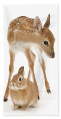 Bambi And Thumper Hand Towel