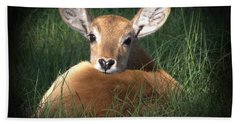 Bambi Bath Towel by Kim Henderson