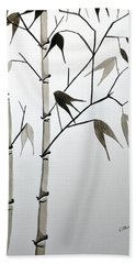 Bamboo Hand Towel by Edwin Alverio