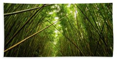 Bamboo Forest Bath Towel