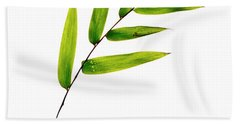 Bamboo Leaves Hand Towel