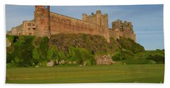 Bamburgh Castle Hand Towel