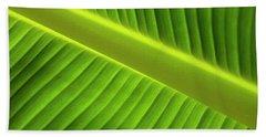 Banana Leaf Hand Towel