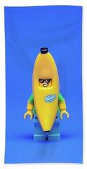 Banana Man Hand Towel by Samuel Whitton