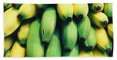 Bananas Hand Towel by Happy Home Artistry