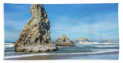Bandon Rocks Hand Towel