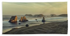 Bandon Sunrise Pano Bath Towel