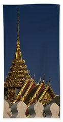 Hand Towel featuring the photograph Bangkok Grand Palace by Travel Pics