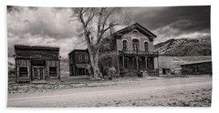 Bannack Montana Ghost Town Bath Towel