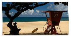 Banzai Beach Hand Towel by Mark Gilman