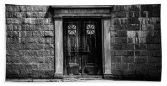 Bar Across The Door Bath Towel by Bob Orsillo