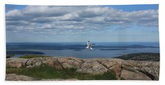 Bar Harbor View From Cadillac Hand Towel