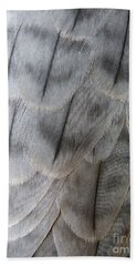 Barbary Falcon Feathers Bath Towel