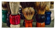 Barber - Shaving Brush Collection Bath Towel