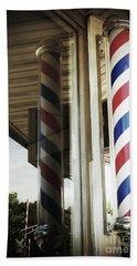 Barbershop Pole Bath Towel