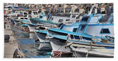 Harbour Of Simi Hand Towel