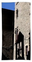 Hand Towel featuring the photograph Barcelona 2 by Andrew Fare
