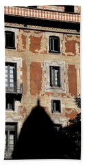 Hand Towel featuring the photograph Barcelona 3 by Andrew Fare