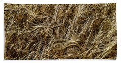 Hand Towel featuring the photograph Barley by RKAB Works