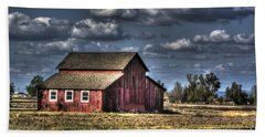 Barn After Storm Hand Towel by Jim And Emily Bush