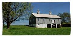Barn In The Country - Bayonet Farm Hand Towel