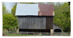 Barn Of Fair Hill Bath Towel by Donald C Morgan