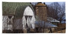 Barn On 29 Hand Towel