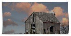 Barn On The Hill Bath Towel by Kathy M Krause