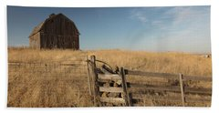Barn On The Prairie Hand Towel