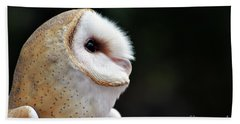 Barn Owl Hand Towel