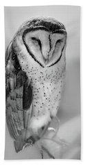 Barn Owl II Bath Towel