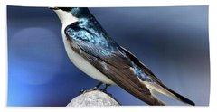 Barn Swallow Bath Towel