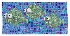 Barnacle Fish Hand Towel