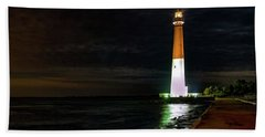 Barnegat Lighthouse Hand Towel