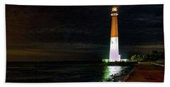 Barnegat Lighthouse Bath Towel