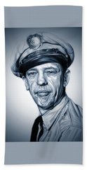 Barney Fife Hand Towel by Fred Larucci